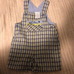 Carter's cotton overalls